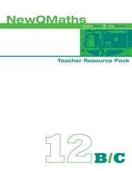 New QMaths 12B & 12C: Teacher Resource Pack and CD-ROM - 9780170180726