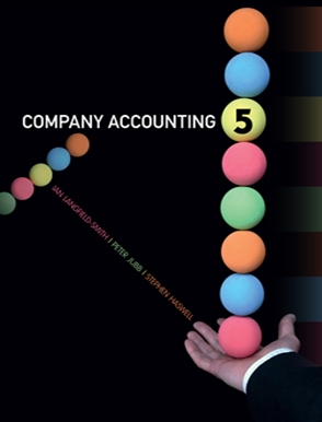 Company accounting buy textbook peter jubb 9780170181860 company accounting australia new zealand edition fandeluxe Choice Image
