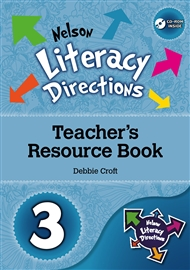 Nelson Literacy Directions 3 Teacher's Resource Book with CD-ROM - 9780170184403