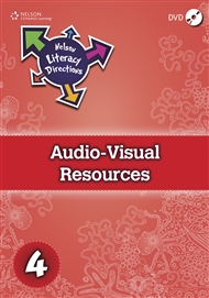 Nelson Literacy Directions 4 Audio-Visual Resources DVD - 9780170184496