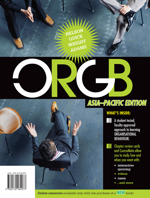 ORGB: Asia Pacific Edition - 9780170184977