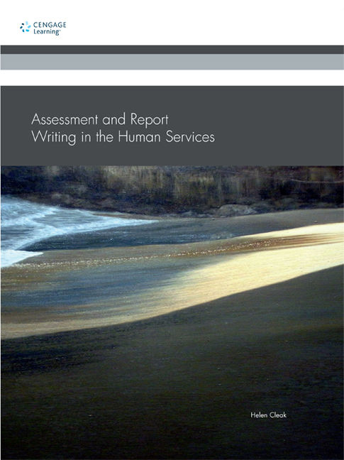 Assessment and Report Writing in the Human Services - 9780170185462