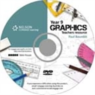 Year 9 Graphics DVD - 9780170185639