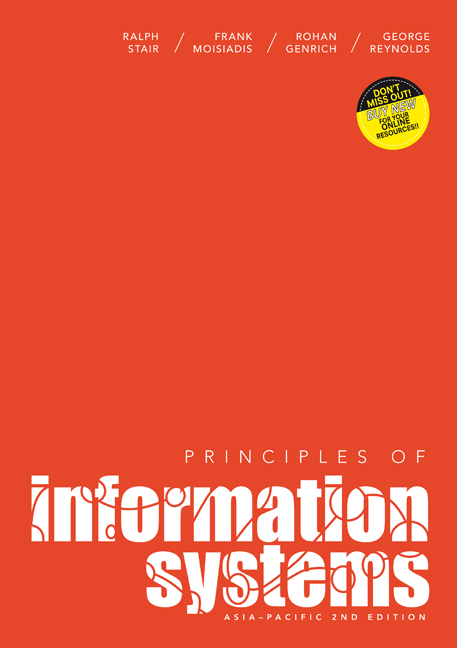 Principles of Information Systems - 9780170188456