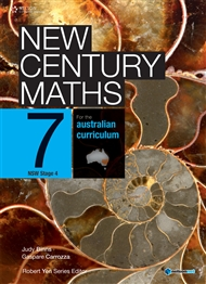 New Century Maths 7 for the Australian Curriculum NSW Stage 4 (Student Book with 4 Access Codes) - 9780170188777
