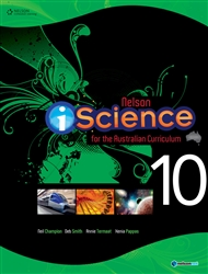 Nelson iScience for the Australian Curriculum Year 10 (Student Book with 4 Access Codes) - 9780170189071