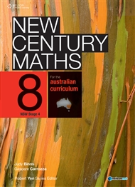 New Century Maths 8 for the Australian Curriculum NSW Stage 4 (Student Book with 4 Access Codes) - 9780170189538