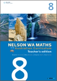 Nelson WA Maths for the Australian Curriculum Year 8 Teacher's Edition - 9780170194518