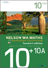 Nelson WA Maths for the Australian Curriculum Advanced 10+10A Teacher's Edition - 9780170194624