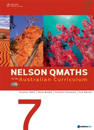 Nelson QMaths for the Australian Curriculum Year 7 - 9780170194730