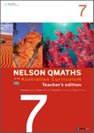 Nelson QMaths for the Australian Curriculum Year 7 Teacher's Edition - 9780170194754