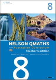 Nelson QMaths for the Australian Curriculum Year 8 Teacher's Edition - 9780170194792