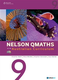 Nelson QMaths for the Australian Curriculum Year 9 - 9780170194815