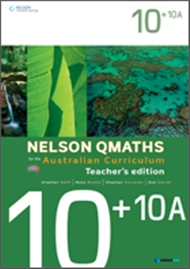 Nelson QMaths for the Australian Curriculum Advanced 10+10A Teacher's Edition - 9780170194907