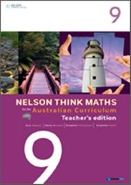 Nelson Think Maths for the Australian Curriculum Year 9 Teacher's Edition - 9780170195034
