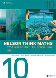 Nelson Think Maths for the Australian Curriculum Year 10 - 9780170195058