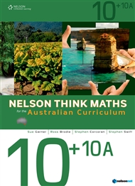 Nelson Think Maths for the Australian Curriculum Advanced 10+10A - 9780170195065