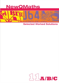New QMaths 11 Selected Worked Solutions PDF eBook on DVD - 9780170195829