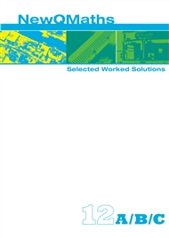 New QMaths 12 Selected Worked Solutions PDF eBook on DVD - 9780170195836