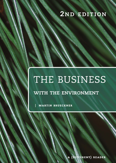 PP0656 The business with the environment: A different reader - 9780170210645