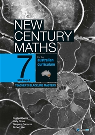 New Century Maths 7 Teacher's Blackline Masters - 9780170210799