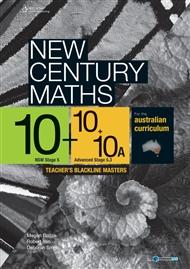 New Century Maths 10/ 10 + 10A Teacher's Blackline Masters - 9780170210829