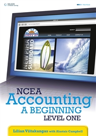 NCEA Accounting - A Beginning: Level 1 Year 11 - 9780170211055