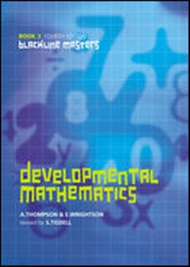 Developmental Mathematics Book 3 Blackline Masters - 9780170213325