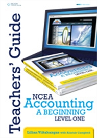 NCEA Accounting - A Beginning: Level 1 Year 11 Teacher Resource CD - 9780170213790