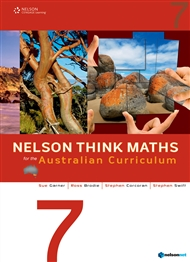 Nelson Think Maths for the Australian Curriculum Year 7 - 9780170214117