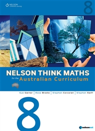 Nelson Think Maths for the Australian Curriculum Year 8 - 9780170214148