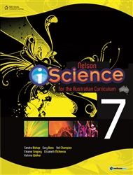 Nelson iScience for the Australian Curriculum Year 7 (Student Book with 4 Access Codes) - 9780170214209
