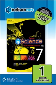 Nelson iScience for the Australian Curriculum Year 7 (1 Access Code Card) - 9780170214216