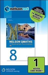 Nelson QMaths 8 for the Australian Curriculum (1 Access Code Card) - 9780170214247