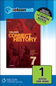 Nelson Connect with History Year 7 for the Australian Curriculum (1 Access Code Card) - 9780170214360