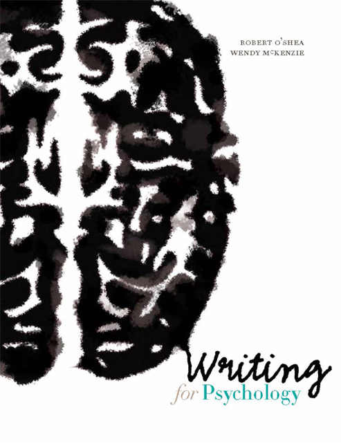 Writing for Psychology - 9780170214681