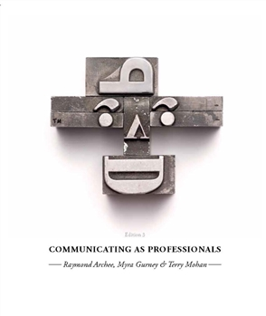 Communicating as Professionals - 9780170214971