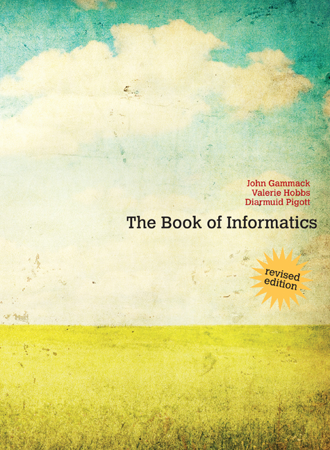 The Book of Informatics Revised Edition - 9780170216005