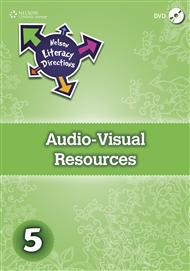 Nelson Literacy Directions 5 Audio-Visual Resources DVD - 9780170217729