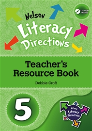 Nelson Literacy Directions 5 Teacher's Resource Book with CD-ROM - 9780170217736