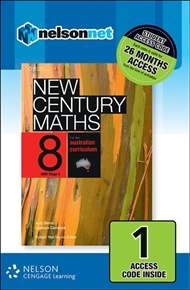 New Century Maths 8 for the Australian Curriculum NSW Stage 4 (1 Access Code Card) - 9780170218115