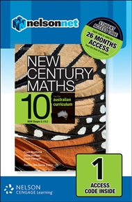 New Century Maths 10 for the Australian Curriculum NSW (1 Access Code Card) - 9780170218153