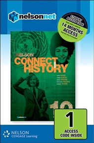 Nelson Connect with History Year 10 for the Australian Curriculum (1 Access Code Card) - 9780170218757