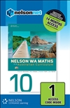 Nelson WA Maths 10 for the Australian Curriculum (1 Access Code Card)