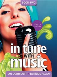 In Tune with Music Book 2 - 9780170221252