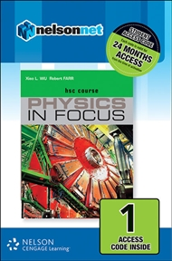 Physics in Focus HSC (1 Access Code Card) - 9780170226776
