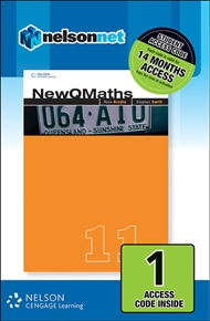 New QMaths 11B (1 Access Code Card) - 9780170226950