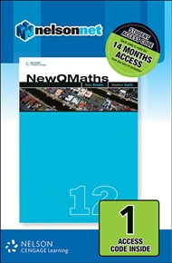 New QMaths 12A (1 Access Code Card) - 9780170227018