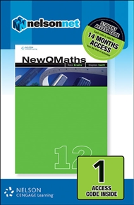 New QMaths 12B (1 Access Code Card) - 9780170227049