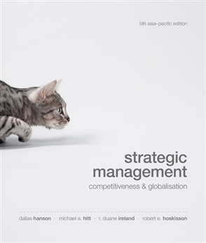 Strategic Management: Competitiveness and Globalisation - 9780170227643